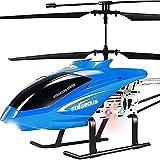 UimimiU 3. 5ch Grado aficionado Rc Helicóptero Inalámbrico Control remoto Aviones Helicóptero Resistente a la caída Gyro, grande 2. 4 GHz Modelo de avión juguetes DIRIGIÓ Helicóptero Mejor regalo de N