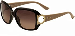 4384509e0 Amazon.com: Salvatore Ferragamo - Sunglasses / Sunglasses & Eyewear ...