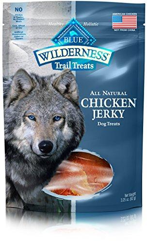 BLUE Wilderness Trail Treats Grain Free Chicken Jerky Dog Treats 3.25-oz