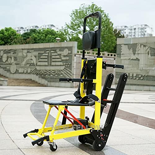 JINKEBIN Silla de ruedas eléctrica para personas viejas y discapacitadas, segura y fácil de subir escaleras arriba y abajo, sillas de ruedas eléctricas plegables (color como en la imagen5)