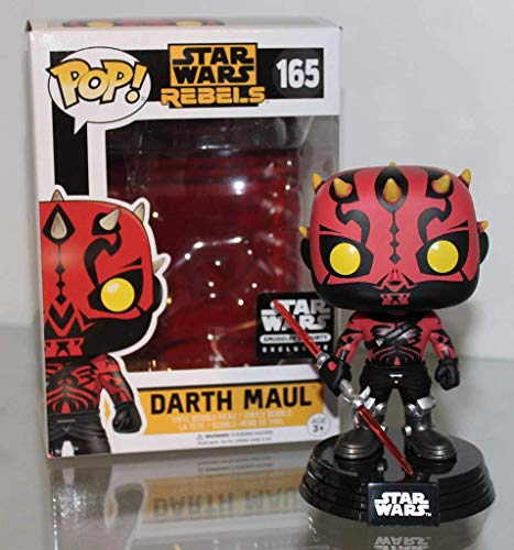 PoP! Star Wars Rebels Darth Maul Smugglers Bounty Exclusive 165 with Protector image