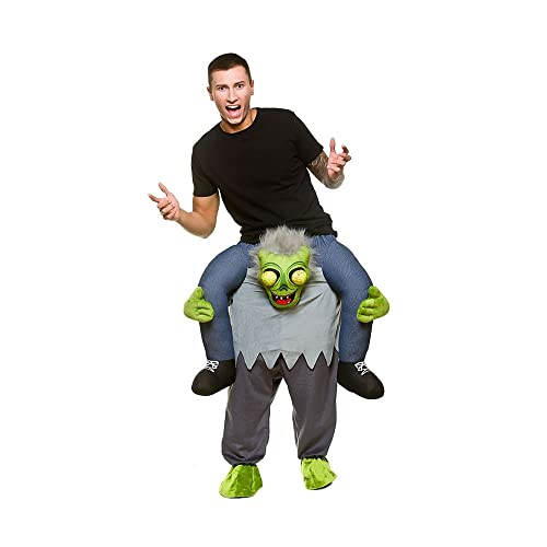 Perfect Carry Me® Zombie Adult Costume One Size