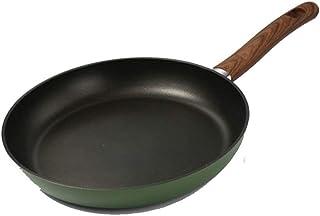 Pan Wok Antiadherente freír Olla Filete de Pan, Tortilla salteado Pan Pan Estufa de Gas Cocina de inducción universales (Color: Verde Oscuro) dsfhsfd (Color : Dark Green)