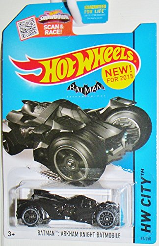 Hot Wheels Elite Batman Arkham Knight Batmobile Vehicle (1:18 Scale) by Hot Wheels