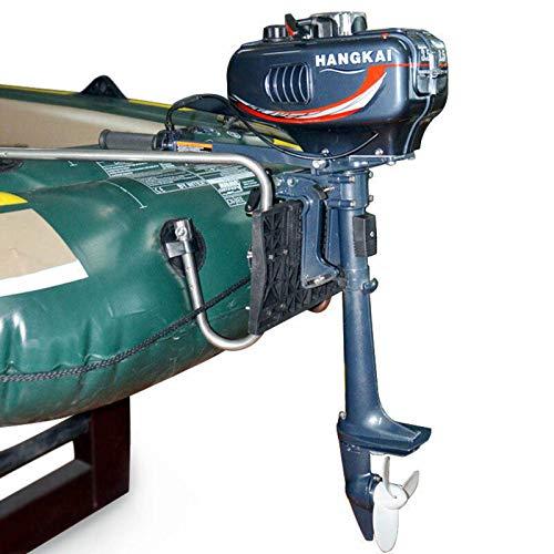 Motori fuoribordo per barche,Nuovo motore fuoribordo con motore per barca a 2 tempi,Motore fuoribordo a benzina,3.5-7HP,Cilindrata 123CC,5000-6000 rpm,Posizioni del cambio F-N-R