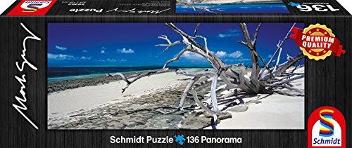 Schmidt Spiele 59362 - Mark Gray, Green Island - Queensland, Australia, 136 Teile, Klassische Puzzle