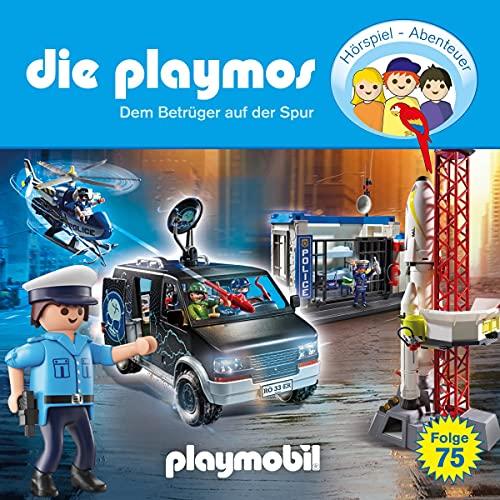 Dem Betrüger auf der Spur. Das Original Playmobil Hörspiel cover art