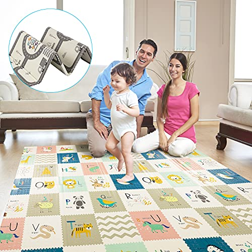 Alfombras Infantiles Grandes Verde alfombras infantiles  Marca TGTT