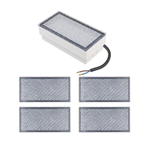 parlat LED Stein Bodenleuchte CUS, 20x10cm, 230V, warm-weiß, 5 Stk.