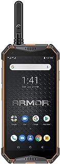 Ulefone Armor 3WT(2019)頑丈な携帯電話のロックが解除されました、IP68トランシーバー防水スマートフォン、10300mAh、5.7インチ、6GB + 64GB、Android 9.0 4GデュアルSIM、コンパスNFC G...