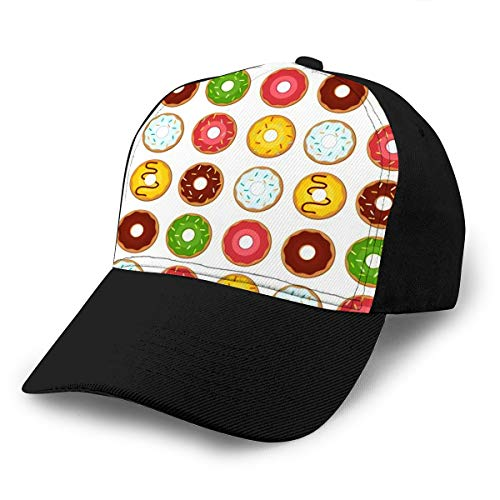 txregxy Baseball Cap Hats Snapback Donut Dessert Donuts Doughnut Bakery Tasty