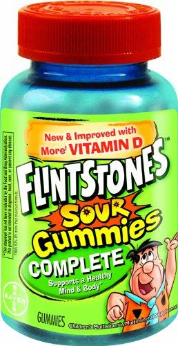 Flintstones Children's Complete Multivitamin Sour Gummies, 150-Count