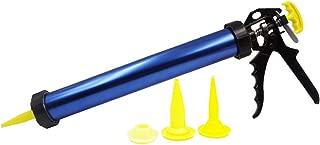 Manual Sausage Caulk Gun with 20 ounce Capacity (Blue)