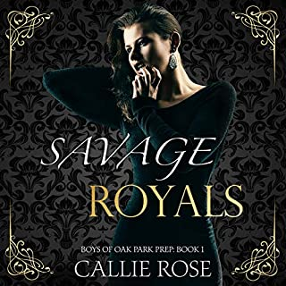 Savage Royals: A Reverse Harem High School Bully Romance audiobook cover art