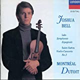 Saint-Saens: Violin Concerto No. 3; Lalo: Symphonie espagnole