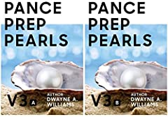 PANCE PREP PEARLS V3 - PART A 9781712861165 PANCE PREP PEARLS V3 - PART B 9781712913109