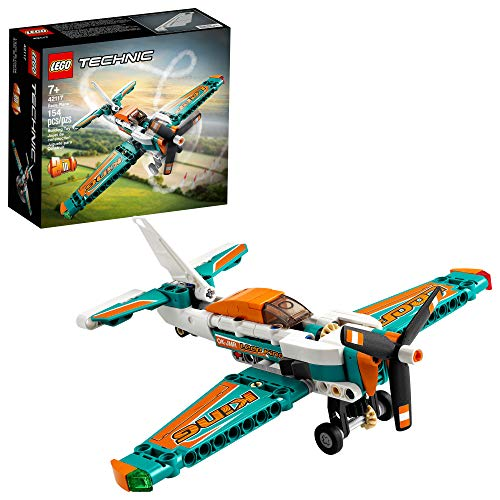 LEGO Technic Race Plane 42117 Building Kit for Boys and Girls Who Love Model Airplane Toys, New 2021 (154 Pieces)