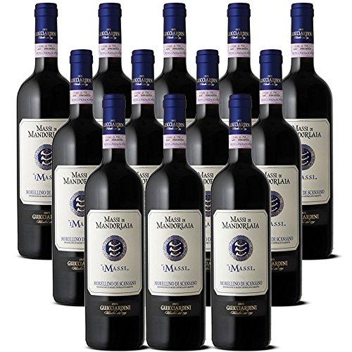 Morellino di Scansano D.O.C.G. I Massi di Mandorlaia 12 mini bottiglia demi 0,375 cl.