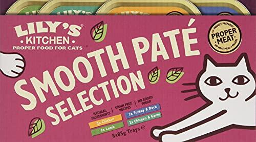 Lily s Kitchen Cibo Umido per Gatti Completo Senza Cereali (32 x 85g)