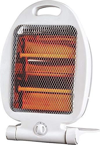 Estufa Calefactor halógeno 2 Tubos de Cuarzo 800 W Bajo Consumo N-834