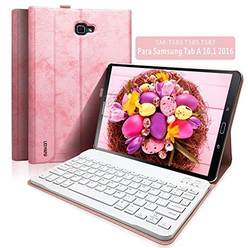 "BAIBAO Funda Teclado Tablet 10.1 para Samsung Tab A 10.1"" SM-T580 / T585 / T587..."