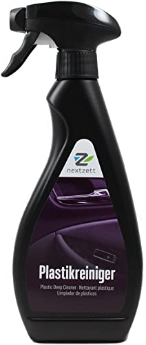nextzett 92441015 Plastic Deep Cleaner - 16.9 fl. oz, 500 ML, (Single Unit)
