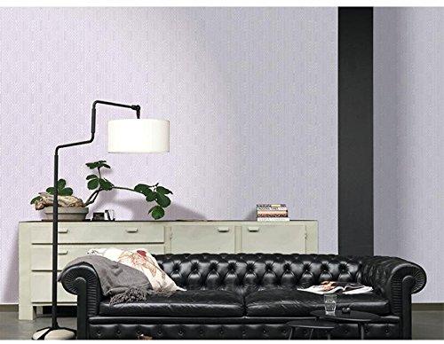 Ayzr Einfache Moderne Tapeten, Reine Farbige Vliesstoff Tapete, Violett
