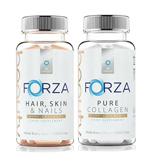 Beauty Bundle - Hair Care & Skin Care Essential Supply - Integratori di bellezza da Forza