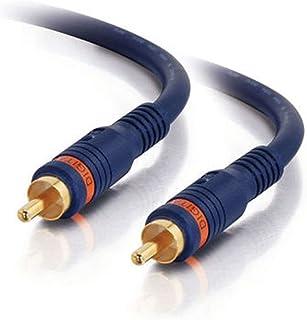 C2G 29115 Velocity S/PDIF Digital Audio Coax Cable, Blue (6 Feet, 1.82 Meters)