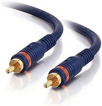 C2G 40008 Velocity S/PDIF Digital Audio Coax Cable, Blue (1.5 Feet, 0.45 Meters)