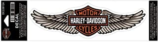 HARLEY-DAVIDSON Straight Wing Decal Tan LG Size Sticker DC339124