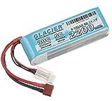 Glacier 30C 2200mAh 3S 11.1V LiPo Battery with T Plug