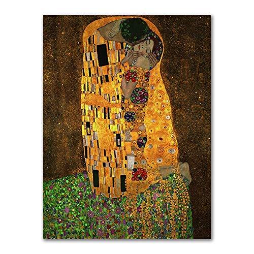 vhidfsjgdsfik (No Frame) 50x70cm Abstrakte Violine und Gitarre Plakate und Drucke Cafe Bar Bild auf Leinwand für Wand Picasso Kubismus Wandbilder für Wohnkultur