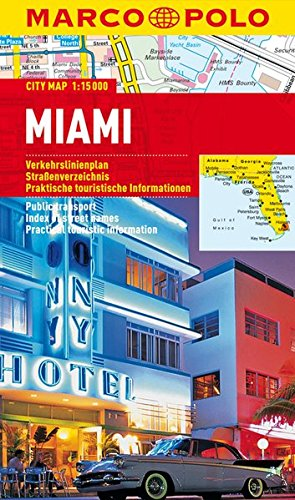 MARCO POLO Cityplan Miami 1:15 000: Stadsplattegrond 1:15 000 (MARCO POLO Citypläne)
