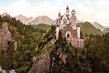 1art1 Schloß Neuschwanstein - Das Märchenschloss Um 1900