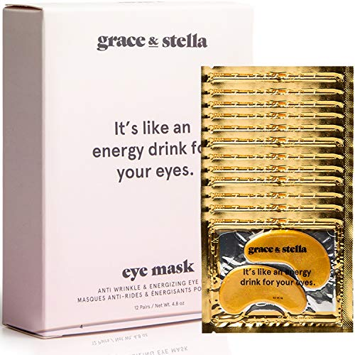 Grace & stella Co. Grace & stella antirughe + Energizing Gold Collagen Eye...