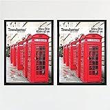 MCS, Black, 18 x 24 Inch Trendsetter Poster Frame, 2-Pack, 18 x 24