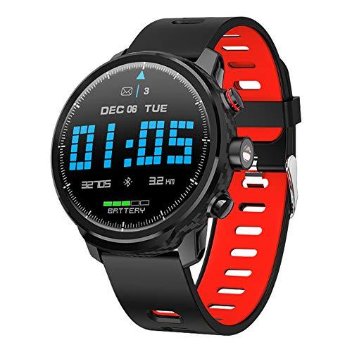Padgene Reloj Inteligente Hombre, Smartwatch Deportivo Impermeable IP68, Pulsera Actividad 1,3 Pulgadas con Monitor de Ritmo Cardíaco, Podómetro,Calorías, Monitor de Sueño