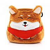 YY Vertical Shiba Inu | Chalkbag for Rock Climbing Gymnastics Bouldering Suitable for Adults and Children Cute Animal Chalk Bag with Belt Ideal for Rock Climbing