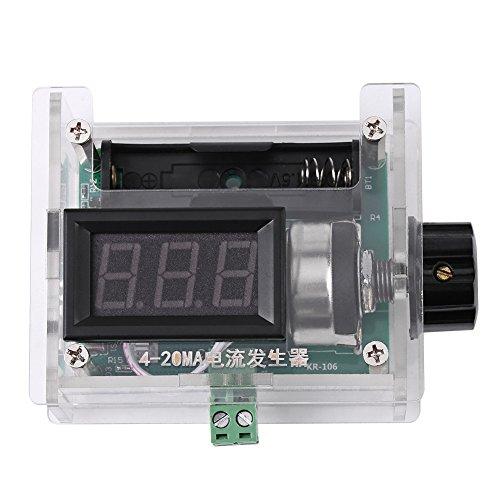 TAIDDA 전류 신호 발생기 전류 신호 생성기 4-20MA 디지털 디스플레이 전류 신호 발생기 수동 조정 출력 전류 보드