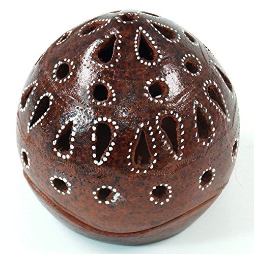 Guru-Shop Keramische Lantaarn, Keramiek, Maat: Hoog, 11cm, 11cm Hoog, 11x10x10 cm, Theelichthouder Kaarshouder