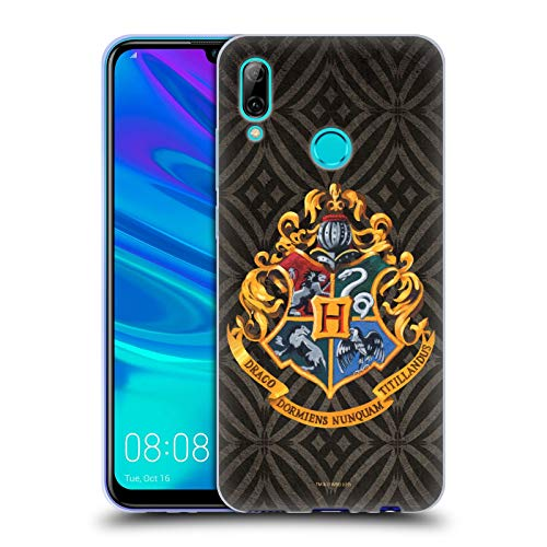 Head Case Designs Oficial Harry Potter Hogwarts Crest Prisoner of Azkaban I Carcasa de Gel de Silicona Compatible con Huawei P Smart (2019)