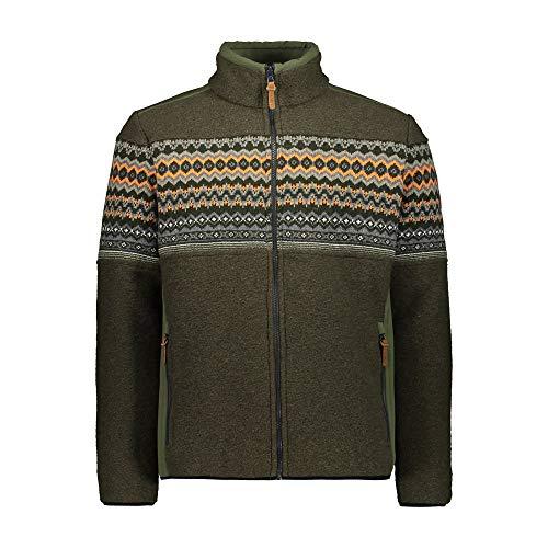 CMP Chaqueta Wooltech interior de lana., Hombre, Chaqueta, 30M3217, Oil Green, 50