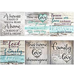 PACKAGE INCLUDES:6 sets 5D full drill diamond painting like the pictures,6 diamond sticky pens,6 adhesive clay,6 diamond plates and 1 tweezers and instructions DIAMOND CANVAS SIZE: 30X30CM/12 X 12Inch.NOTE:The part you need to complete are smaller th...