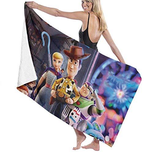 Toallas de baño de microfibra supersuaves y grandes, de Toy Story, para baño, para hombres y mujeres, 32 x 52 pulgadas