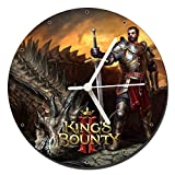 MasTazas King's Bounty II Orologio da Parete Wall Clock 20cm