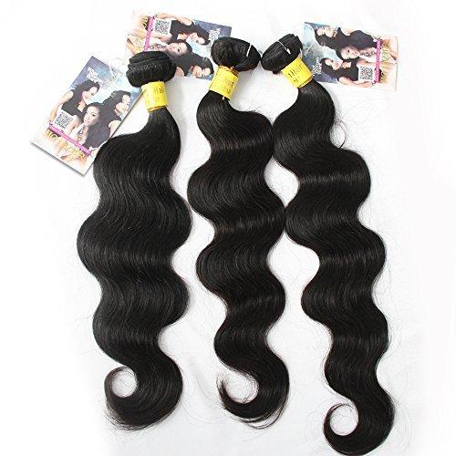 Extension de cheveux humains brésiliens vierges mixtes Body Wave, longueur 40,6 cm 45,7 cm 50,8 cm 3 lots 300 g par lot