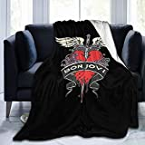 Bon Merchandise Blanket Ultra Soft Micro Fleece Blanket for Bedroom Sofa Comfortable (50'x40')