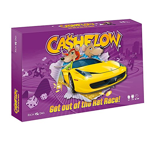 CASHFLOW in French - Rich Dad Investing Board Game by Robert Kiyosaki - Newest Edition