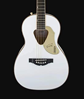 Best Gretsch Guitars G5021WPE Rancher Penguin Parlor Acoustic/Electric White Review